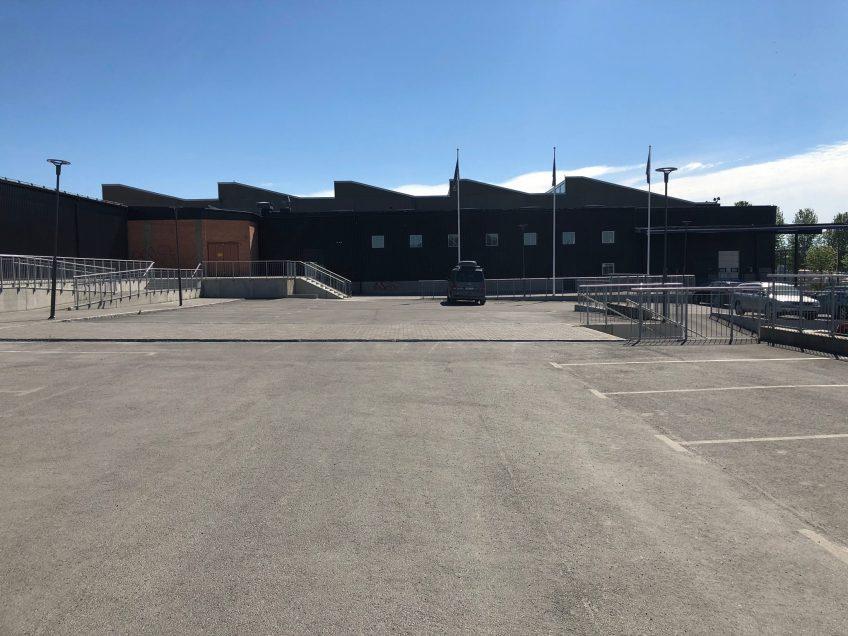 Invigning av Östersunds Klättercenter